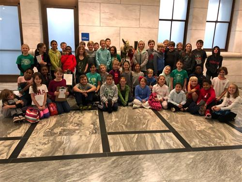 4th Grade visits the DIA