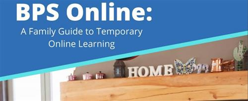 BPS Family Guide to Online Learning