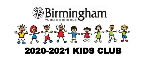 2020-20201 Kids Club logo