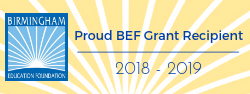 Proud BEF Grant Recipient