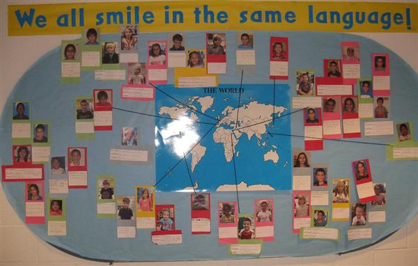 We all smile in the same language!