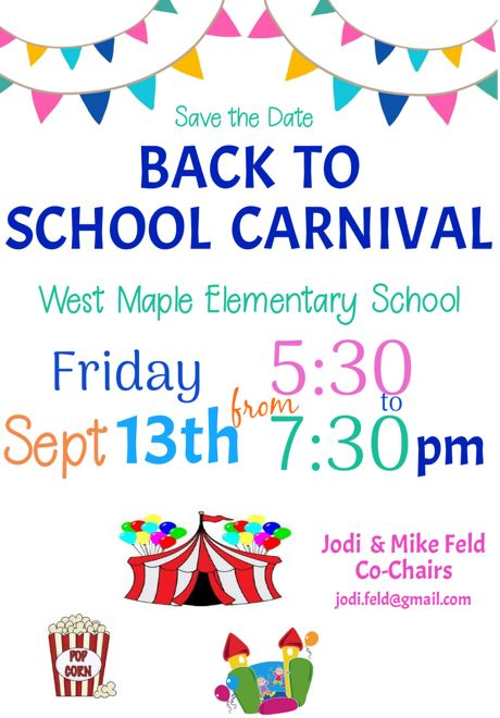 2019-2020 Back To School Carnival