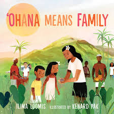 Cover image of the book 'Ohana Means Family