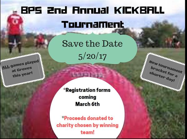 2017 BPS Kickball Tournament Invite May 20 2017 Registration coming March 6