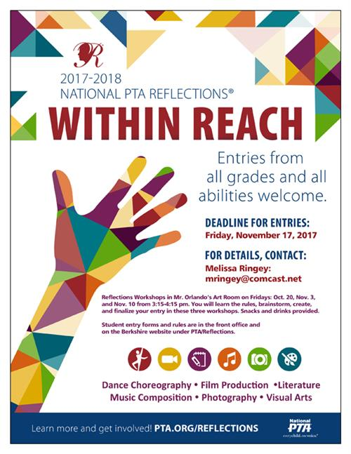 PTA Reflections Contest!