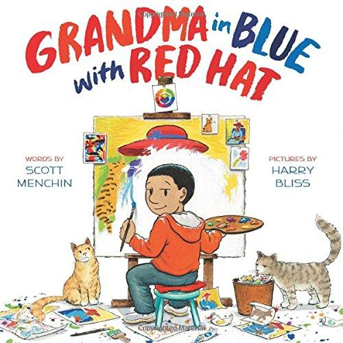 Cover image for Grandma in Blue with Red Hat