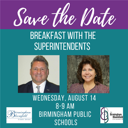 Breakfast with the Superintendents