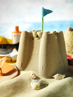 Sandcastles and Books
