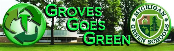 Groves Goes Green Banner