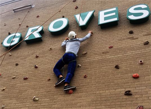 Groves Climbing Wall