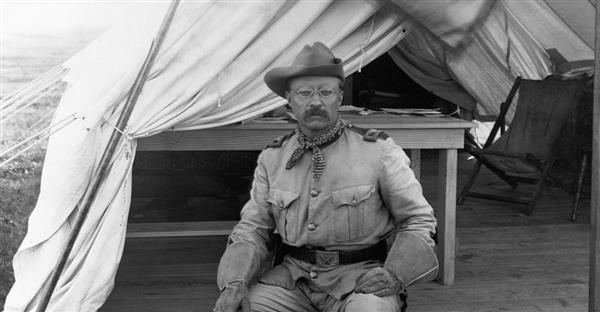 Teddy Roosevelt in Uniform