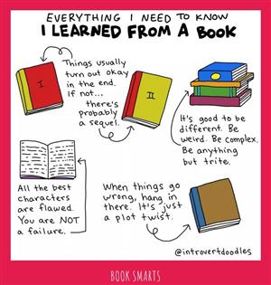 book smarts by introvert doodles