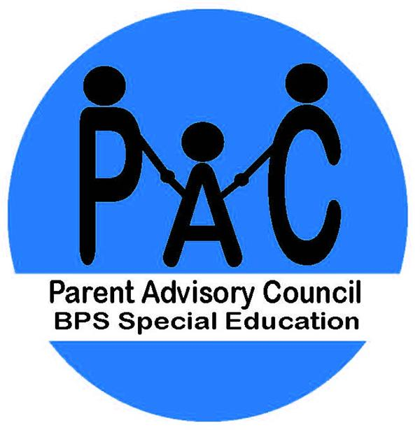 PAC Logo, Blue with black writing