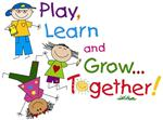 Play, Learn and Grow Together preschool logo